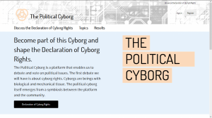 Website The Political Cyborg